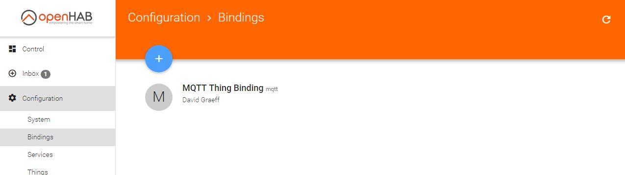 MQTT Thing Binding