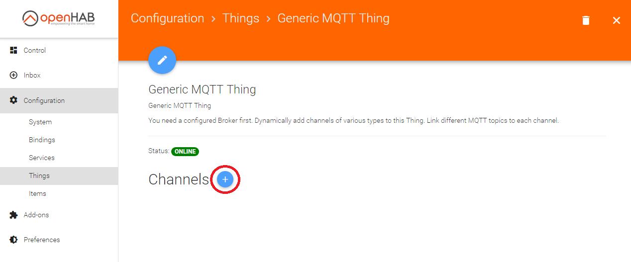 Настройка MQTT брокера в openHab2